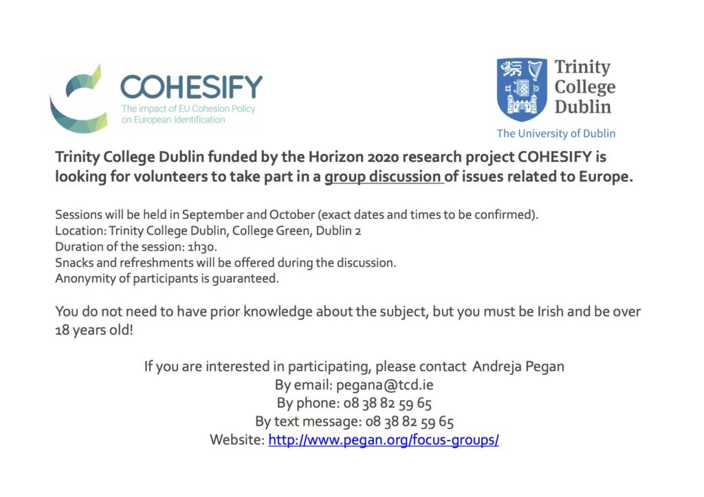 focus groups flyer andreja pegan phd